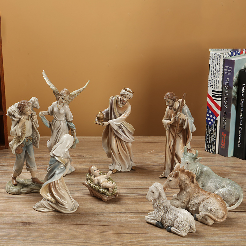 Holy Family Polyresin Nativity Sets Religious Figurines