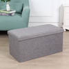 Custom Storage Stool High Quality Hard PU Storage Ottoman