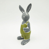 White Ceramic Easter Bunny Rabbit Head for Decor