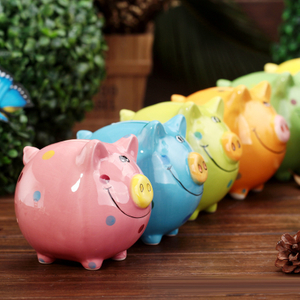 Pot Of Dreams Ceramic Gift Pig Money Box For Bill Pot