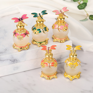 10ml Luxury Zinc Alloy Perfume Bottles for Essencial Oil