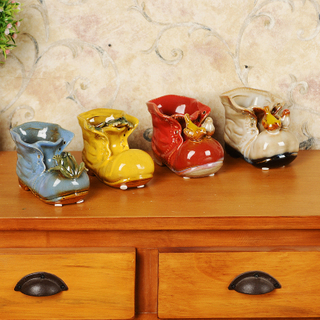 Individual Character of Pottery And Porcelain Places Piece Much Flesh Flowerpot